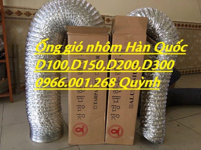 Địa chỉ phân phối  ống gió mềm nhôm , ống gió bạc phi 75,phi 100,phi 125,phi 150,phi 200 giá rẻ1