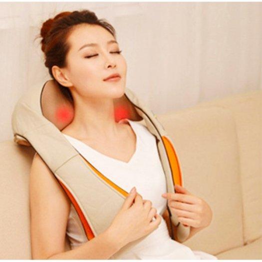 Máy massage vai gáy hiện nay,Đai khoác mát xa vai cổ gáy Hàn Quốc2