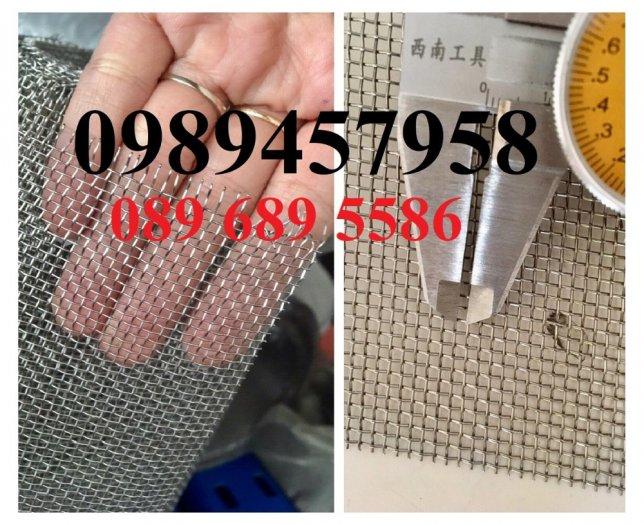 Lưới inox 304 chống côn trùng - Lưới inox 304 lưới dệt - lưới inox sấy thực phẩm5