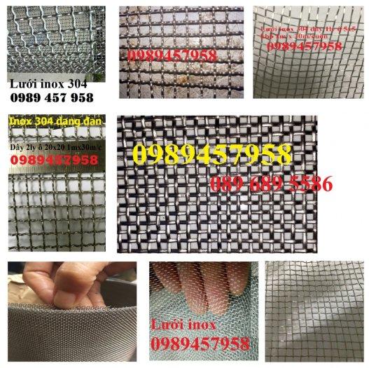 Lưới inox 304 chống côn trùng - Lưới inox 304 lưới dệt - lưới inox sấy thực phẩm1