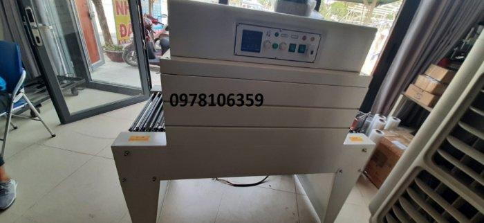 Máy rút màng co PVC/POF, máy đóng gói màng co cho hộp, máy rút màng co nhãn chai BSA4502