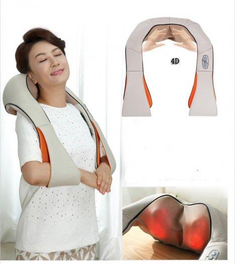 Đai massage giảm đau vai cổ gáy Ayosun Hàn Quốc chính hãng ( Bảo hành 5 năm )0