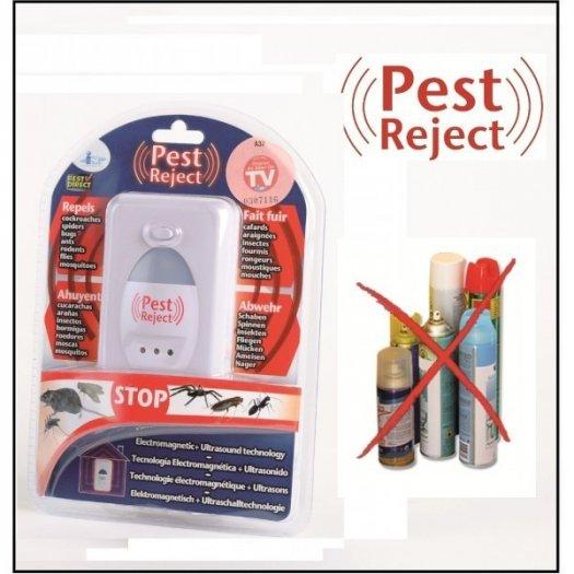 Máy đuổi ruồi,muỗi,chuột,kiến,rán Pest Reject bằng sóng siêu âm an toàn hiệu quả1