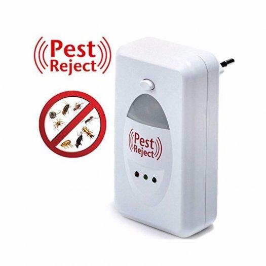 Máy đuổi ruồi,muỗi,chuột,kiến,rán Pest Reject bằng sóng siêu âm an toàn hiệu quả0