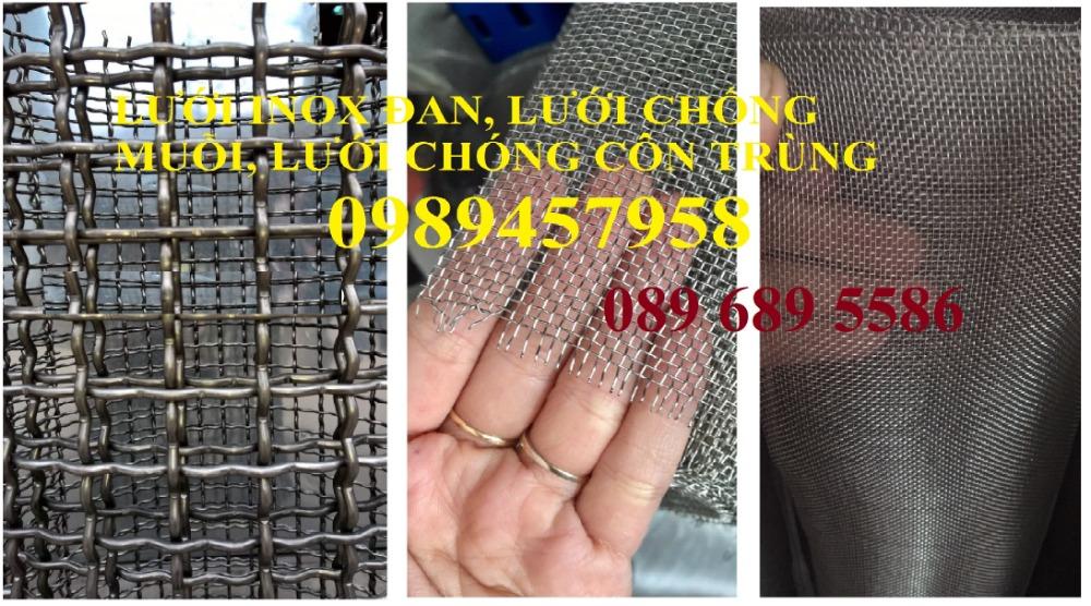 Lưới chống muỗi inox316, SUS316, Inox 316L, Lưới inox đan 316 giá tốt4