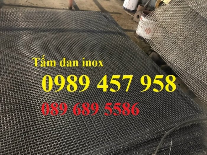 Lưới chống muỗi inox316, SUS316, Inox 316L, Lưới inox đan 316 giá tốt3