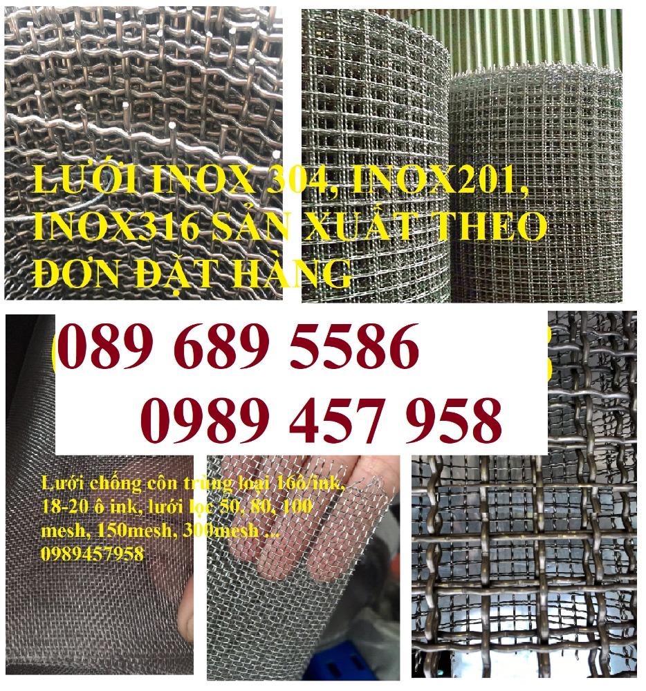 Lưới chống muỗi inox316, SUS316, Inox 316L, Lưới inox đan 316 giá tốt2