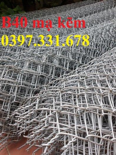 Lưới B40, B40 mạ kẽm, B40 bọc nhựa khổ 1m, 1,2m, 1,5m, 1,8m làm theo yêu cầu2