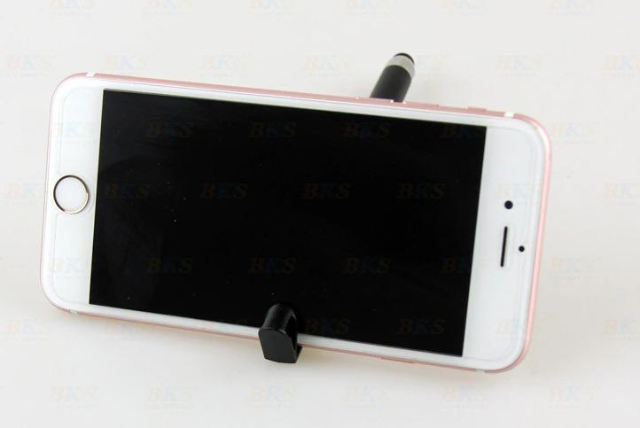 Bút bi in mã quét QR tích hợp giá để điện thoại tiện lợi1