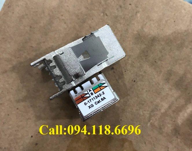 Ổ cắm mạng Commscope AMP XG Cat6A Modular Jack 1711342-2/ 2153001 - 10G4