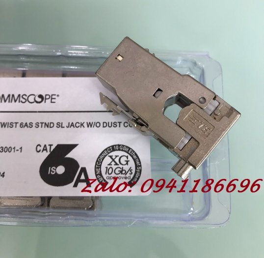 Ổ cắm mạng Commscope AMP XG Cat6A Modular Jack 1711342-2/ 2153001 - 10G2