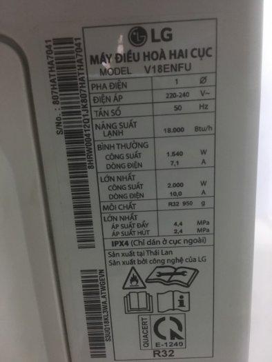 Máy Lạnh HP INVERTER 2HP V18ENFN mới 95%2