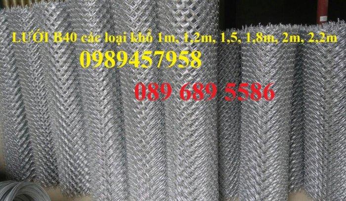 Lưới thép B40 mạ kẽm, B40 bọc nhựa khổ 2m2, 2,4m giá tốt tại Hà Nội7