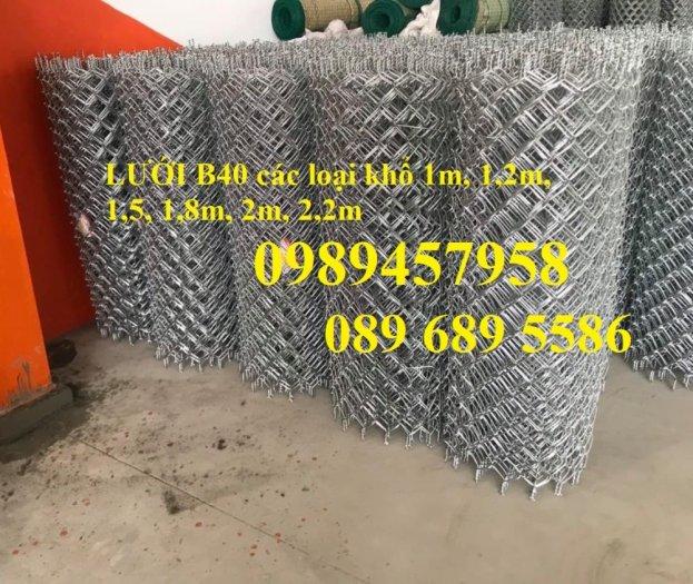 Lưới thép B40 mạ kẽm, B40 bọc nhựa khổ 2m2, 2,4m giá tốt tại Hà Nội3