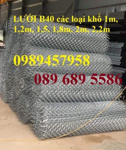 Lưới thép B40 mạ kẽm, B40 bọc nhựa khổ 2m2, 2,4m giá tốt tại Hà Nội2