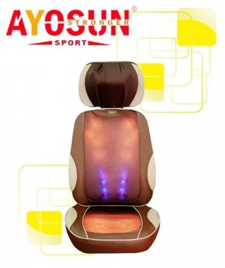 Đệm massage giảm đau thư giãn toàn thân Ayosun nhập khẩu Hàn Quốc bảo hành chính hãng 5 năm2