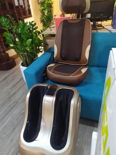 Đệm massage giảm đau thư giãn toàn thân Ayosun nhập khẩu Hàn Quốc bảo hành chính hãng 5 năm0