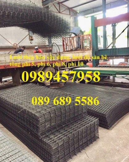 Lưới thép hàn, Lưới hàn chập, Lưới hàn cuộn D4, D6, D8, D10, D12... làm theo đơn đặt hàng7