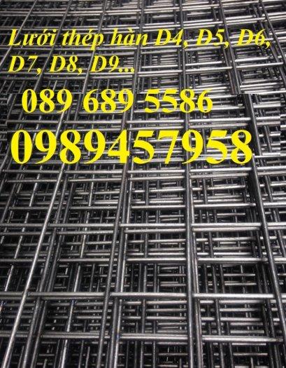 Lưới thép hàn, Lưới hàn chập, Lưới hàn cuộn D4, D6, D8, D10, D12... làm theo đơn đặt hàng2