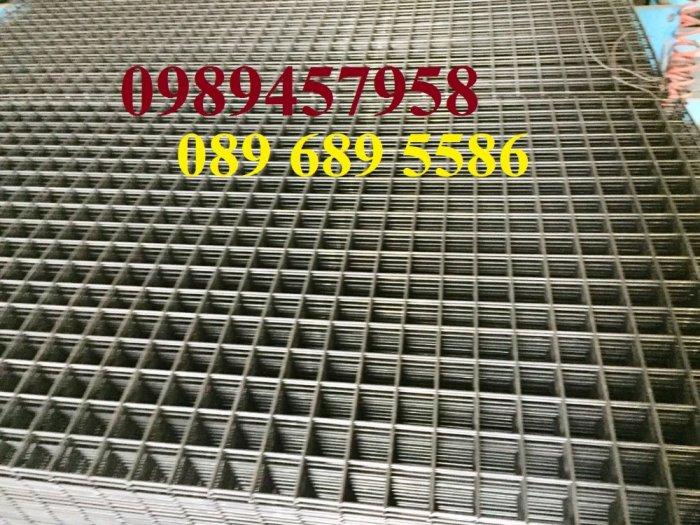 Lưới thép hàn, Lưới hàn chập, Lưới hàn cuộn D4, D6, D8, D10, D12... làm theo đơn đặt hàng0