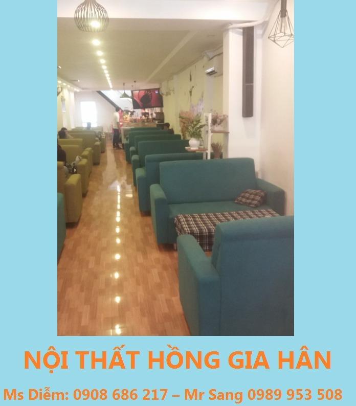 Sofa dành cho quán ăn cao cấp HGH0