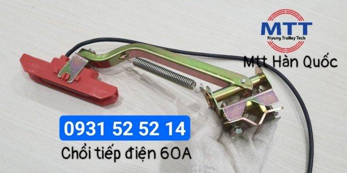 Chổi tiếp điện cầu trục 1p 60a hãng myungshin15