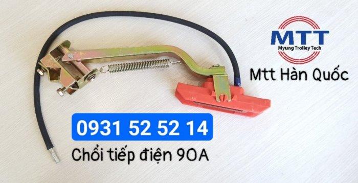 Chổi tiếp điện cầu trục 1p 90a hãng myungshin chính hãng13