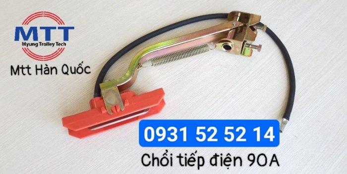 Chổi tiếp điện cầu trục 1p 90a hãng myungshin chính hãng10