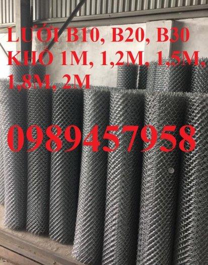 Lưới B10 ô 10x10, B20 ô 20x20, B30 ô 30x30 mạ kẽm nhúng nóng1