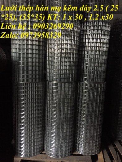Sản xuất lưới thép mạ kẽm phi 2 , phi  2.5 , phi 2.7 , phi 3 , phi 4 ( 25*25),( 35*35),(50*50) phân phối toàn quốc19