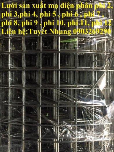 Sản xuất lưới thép mạ kẽm phi 2 , phi  2.5 , phi 2.7 , phi 3 , phi 4 ( 25*25),( 35*35),(50*50) phân phối toàn quốc10