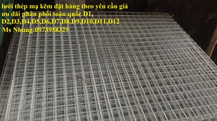 Sản xuất lưới thép mạ kẽm phi 2 , phi  2.5 , phi 2.7 , phi 3 , phi 4 ( 25*25),( 35*35),(50*50) phân phối toàn quốc9