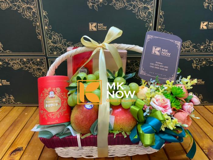 Đặt giỏ quà tặng Happy Mother's Day - FSNK239 - MKnow.vn - 0373 600 6002