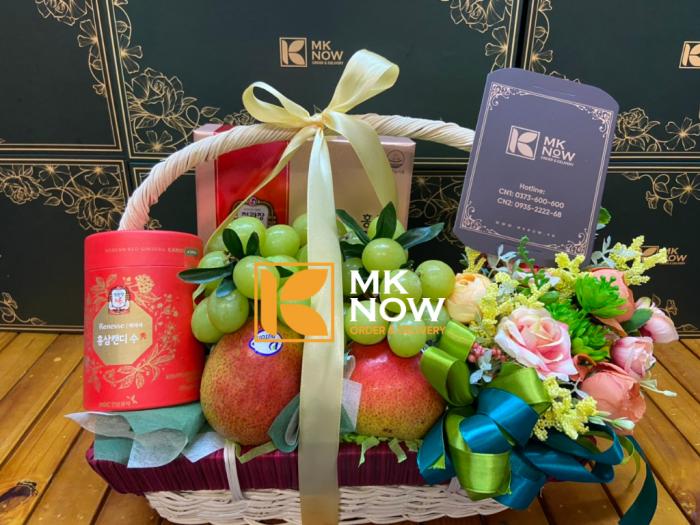 Nhận đặt giỏ quà tặng Happy Mother's Day - FSNK239 - MKnow.vn - 0373 600 6004