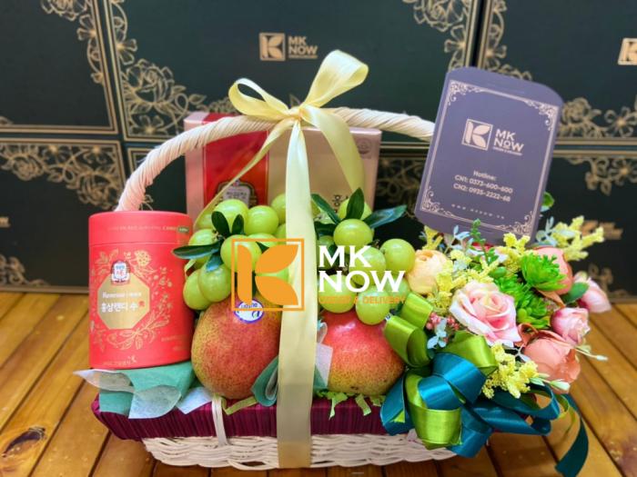 Shop kinh doanh giỏ quà tặng Happy Mother's Day - FSNK239 - MKnow.vn - 0373 600 6005