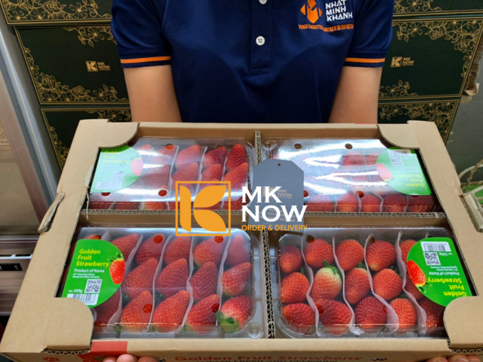 Dâu tây nhập khẩu Hàn Quốc - Gọi ngay: 0373 600 600 (Zalo) - MKnow.vn4