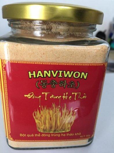 Nấm đông trùng hạ thảo HANVIWON dạng bột lọ 50g3