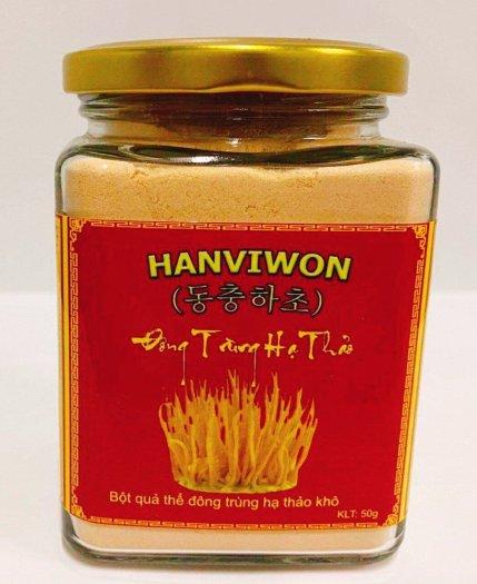 Nấm đông trùng hạ thảo HANVIWON dạng bột lọ 50g2