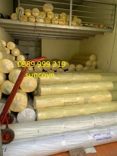 Cuộn nylon Nhựa Đen 2 Mặt Hdpe 0.5mm lót,be,phủ,biogas,bãi chôn lấp4