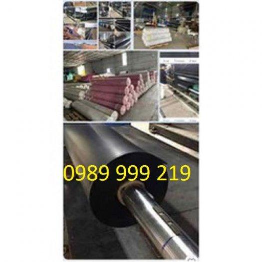 Cuộn nylon Nhựa Đen 2 Mặt Hdpe 0.5mm lót,be,phủ,biogas,bãi chôn lấp2