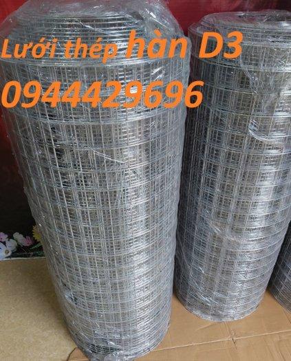 Lưới thép hàn D3 a 50x50 khổ 1m3