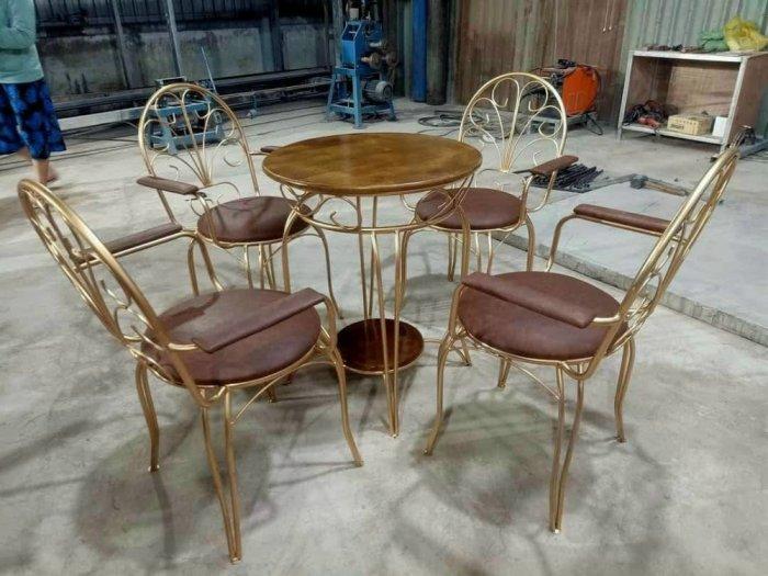 Bộ bàn ghế sắt mỹ ghệ.4