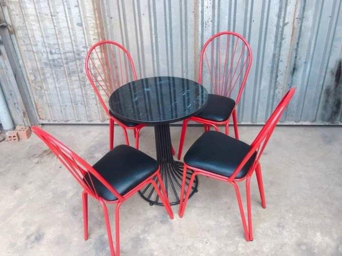 Bộ bàn ghế sắt mỹ ghệ.1