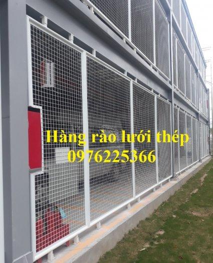 Hàng rào lưới thép sơn tĩnh điện6
