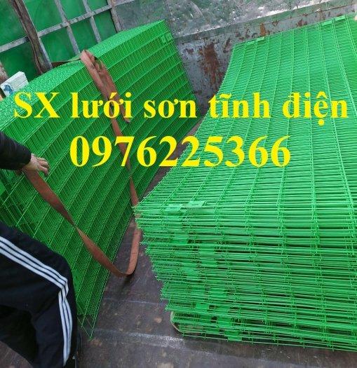 Hàng rào lưới thép sơn tĩnh điện3