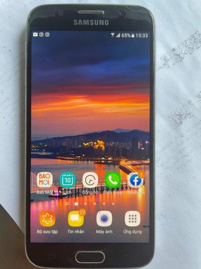 ĐT Samsung S6 xanh dương, zin, tặng sạc nhanh4