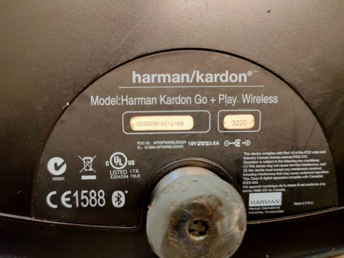 Loa Bluetooth Harman Kardon Go+Play .0