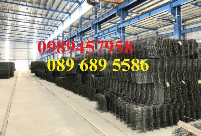 Sản xuất lưới thép hàn phi 8 ô 150x150, 200x200 ,Lưới D8 gân 200*2003