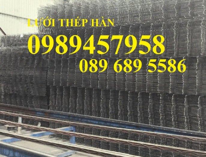 Sản xuất lưới thép hàn phi 8 ô 150x150, 200x200 ,Lưới D8 gân 200*2001