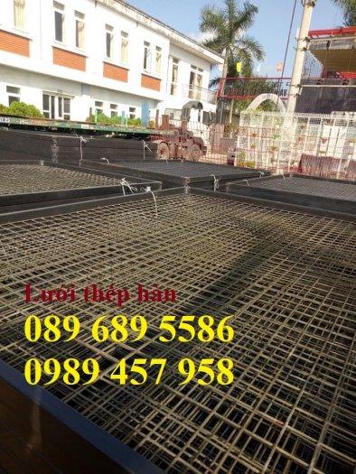 Sản xuất lưới thép hàn phi 8 ô 150x150, 200x200 ,Lưới D8 gân 200*2000